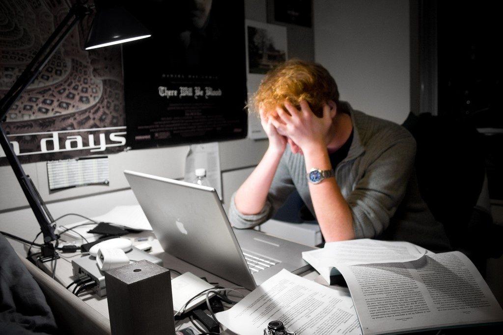 Overcome frustration